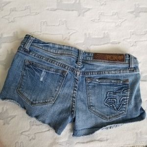 Fox Shorts - Fox Jean Cut Off Shorts